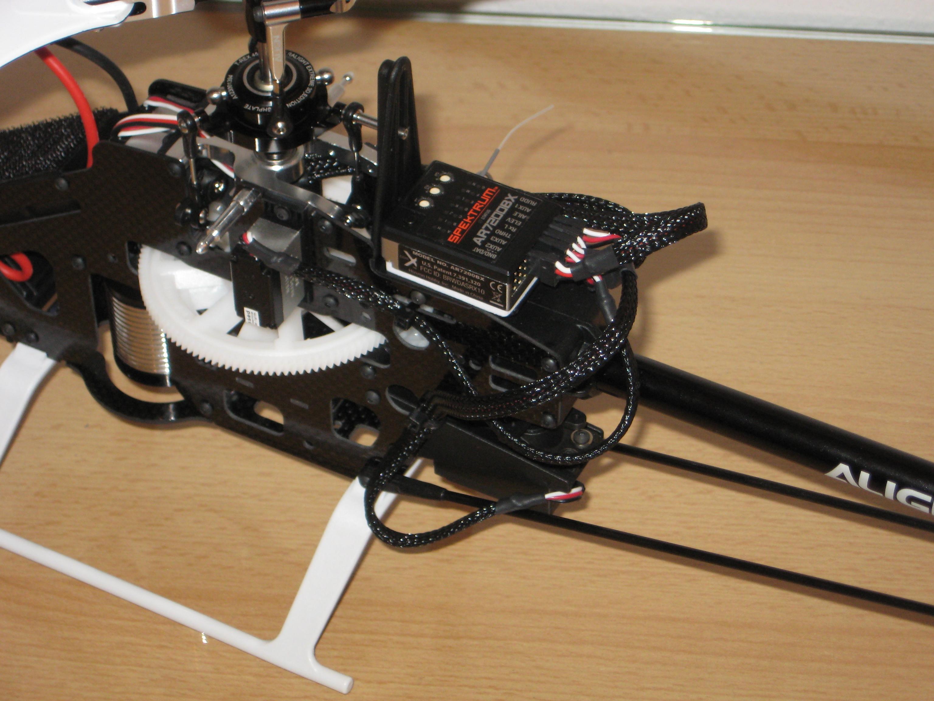 AR7200BX auf Gyroplattform